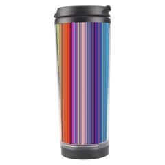 Color Stripes Travel Tumbler