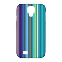 Color Stripes Samsung Galaxy S4 Classic Hardshell Case (pc+silicone)