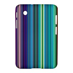 Color Stripes Samsung Galaxy Tab 2 (7 ) P3100 Hardshell Case