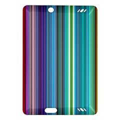 Color Stripes Amazon Kindle Fire HD (2013) Hardshell Case