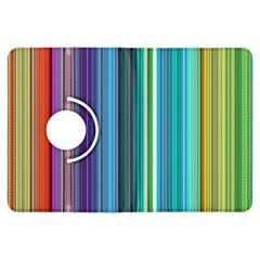 Color Stripes Kindle Fire HDX Flip 360 Case
