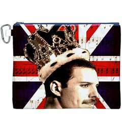 Freddie Mercury Canvas Cosmetic Bag (XXXL)