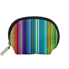 Color Stripes Accessory Pouches (Small)