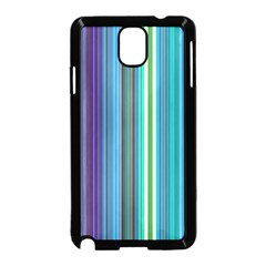 Color Stripes Samsung Galaxy Note 3 Neo Hardshell Case (Black)
