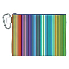 Color Stripes Canvas Cosmetic Bag (XXL)