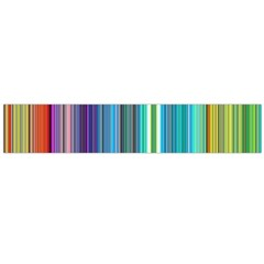 Color Stripes Flano Scarf (Large)