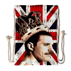 Freddie Mercury Drawstring Bag (Large)