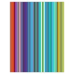 Color Stripes Drawstring Bag (large)