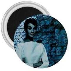 Audrey Hepburn 3  Magnets