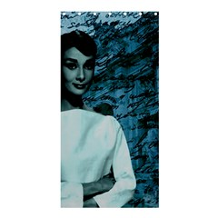 Audrey Hepburn Shower Curtain 36  x 72  (Stall)