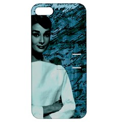 Audrey Hepburn Apple iPhone 5 Hardshell Case with Stand