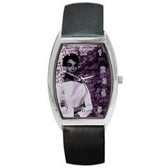 Audrey Hepburn Barrel Style Metal Watch