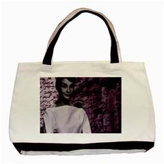 Audrey Hepburn Basic Tote Bag (Two Sides)