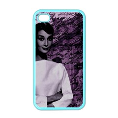 Audrey Hepburn Apple iPhone 4 Case (Color)
