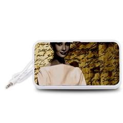 Audrey Hepburn Portable Speaker (White)