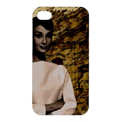 Audrey Hepburn Apple iPhone 4/4S Premium Hardshell Case