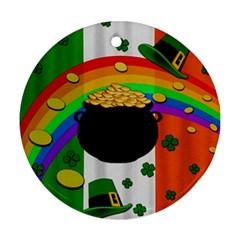 Pot of gold Ornament (Round)