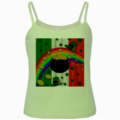 Pot of gold Green Spaghetti Tank