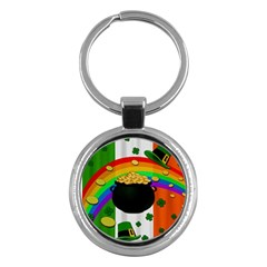 Pot of gold Key Chains (Round)