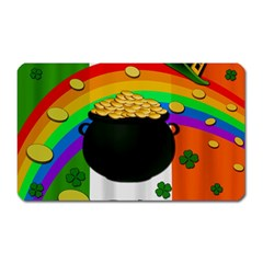 Pot of gold Magnet (Rectangular)