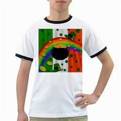 Pot of gold Ringer T-Shirts