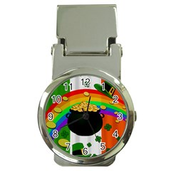 Pot of gold Money Clip Watches