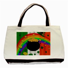 Pot of gold Basic Tote Bag (Two Sides)