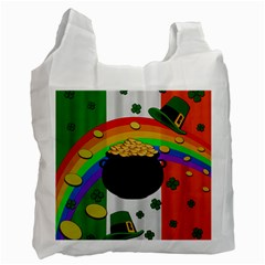 Pot of gold Recycle Bag (One Side)