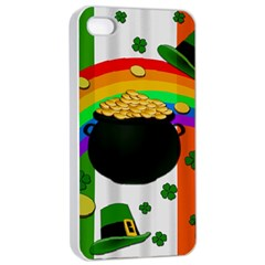 Pot of gold Apple iPhone 4/4s Seamless Case (White)