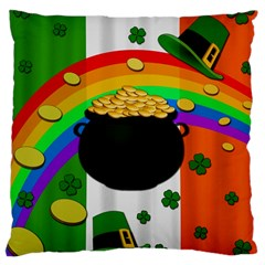 Pot of gold Large Cushion Case (Two Sides)