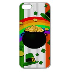 Pot of gold Apple Seamless iPhone 5 Case (Clear)