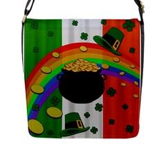 Pot of gold Flap Messenger Bag (L)