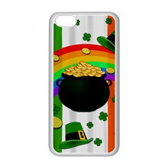 Pot of gold Apple iPhone 5C Seamless Case (White)