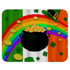 Pot of gold Double Sided Flano Blanket (Medium)