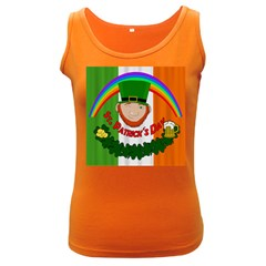 St. Patricks day  Women s Dark Tank Top