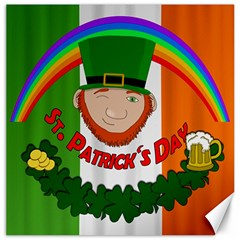 St. Patricks day  Canvas 20  x 20