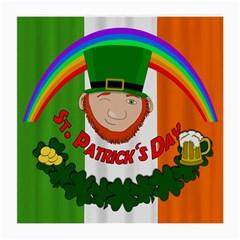 St. Patricks day  Medium Glasses Cloth (2-Side)
