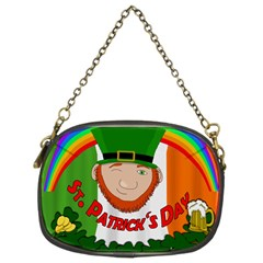 St. Patricks day  Chain Purses (Two Sides)