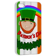 St. Patricks day  Apple iPhone 4/4s Seamless Case (White)