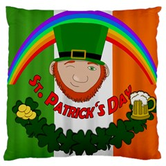 St. Patricks day  Large Cushion Case (Two Sides)