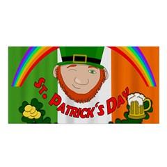 St. Patricks day  Satin Shawl