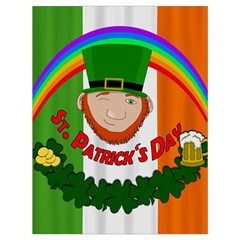 St. Patricks day  Drawstring Bag (Large)