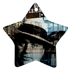 Al Capone  Ornament (Star)