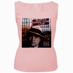 Al Capone  Women s Pink Tank Top