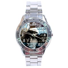 Al Capone  Stainless Steel Analogue Watch
