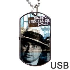 Al Capone  Dog Tag USB Flash (Two Sides)