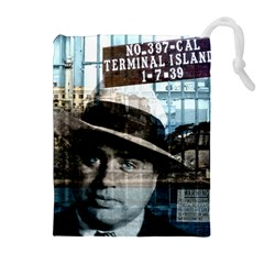 Al Capone  Drawstring Pouches (Extra Large)