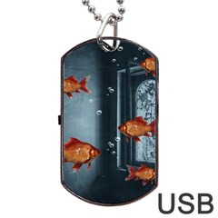 Natural habitat Dog Tag USB Flash (One Side)