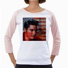Elvis Presley Girly Raglans