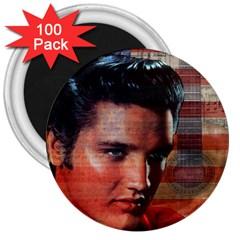 Elvis Presley 3  Magnets (100 pack)